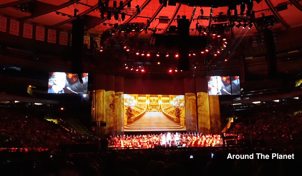 Andrea Bocelli Concert at Madison Square Garden Review