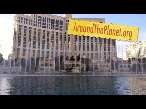 Bellagio Fountains Water Show in Las Vegas