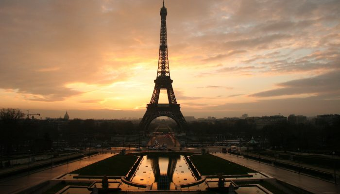 Paris, the romantic city
