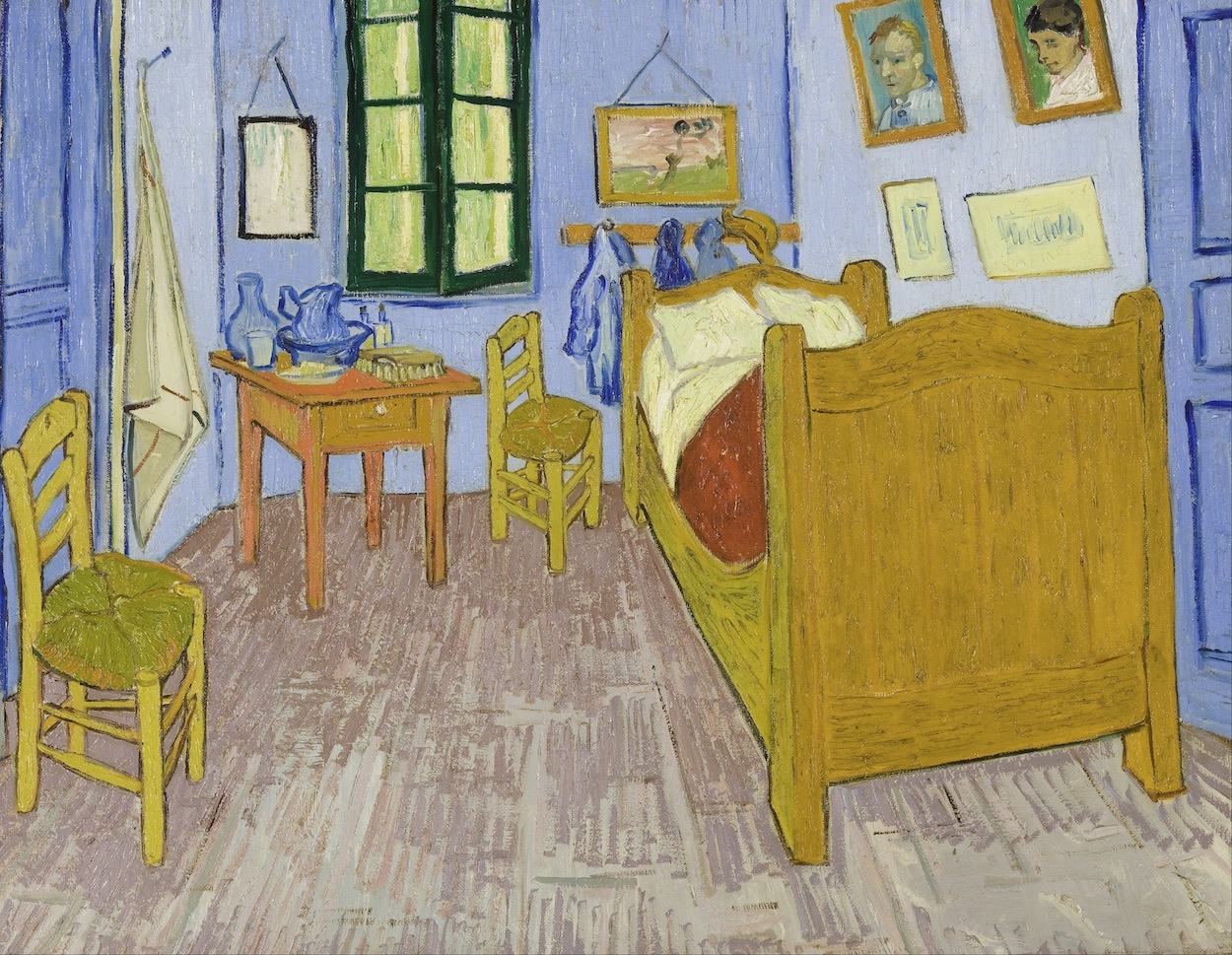 Bedroom in Arles - Van Gogh