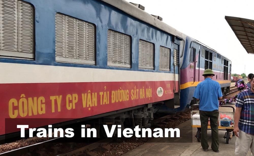 Train Travel in Vietnam - 4-berth Cabins with Soft Sleeper